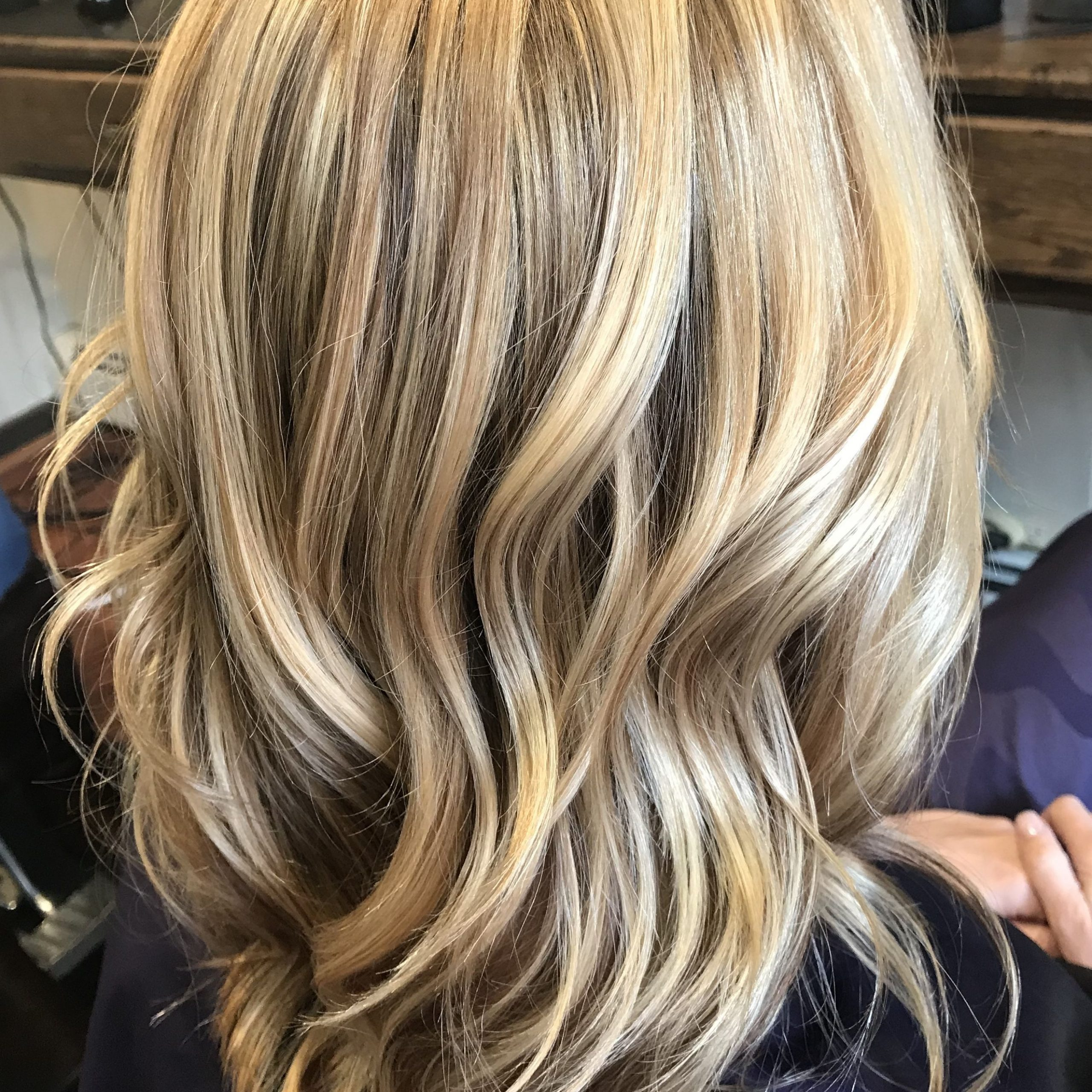 Blonde With Regard To Well Known Feathered Bangs Hairstyles With Bright Highlights (View 18 of 20)