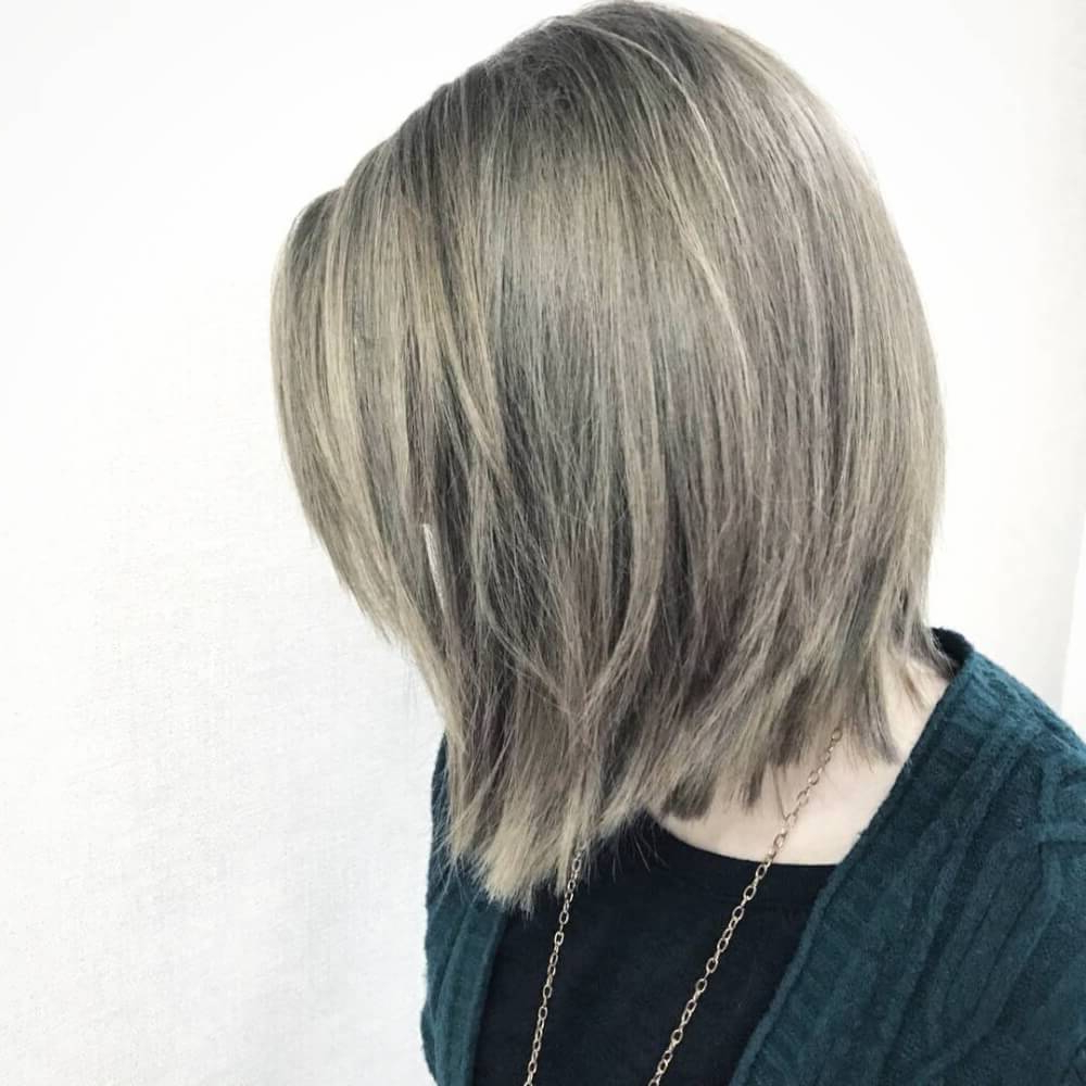 Famous Elongated Feathered Bangs Hairstyles With Edgy Mob With 50 Cute Short Bob Haircuts & Hairstyles For Women In (View 8 of 20)