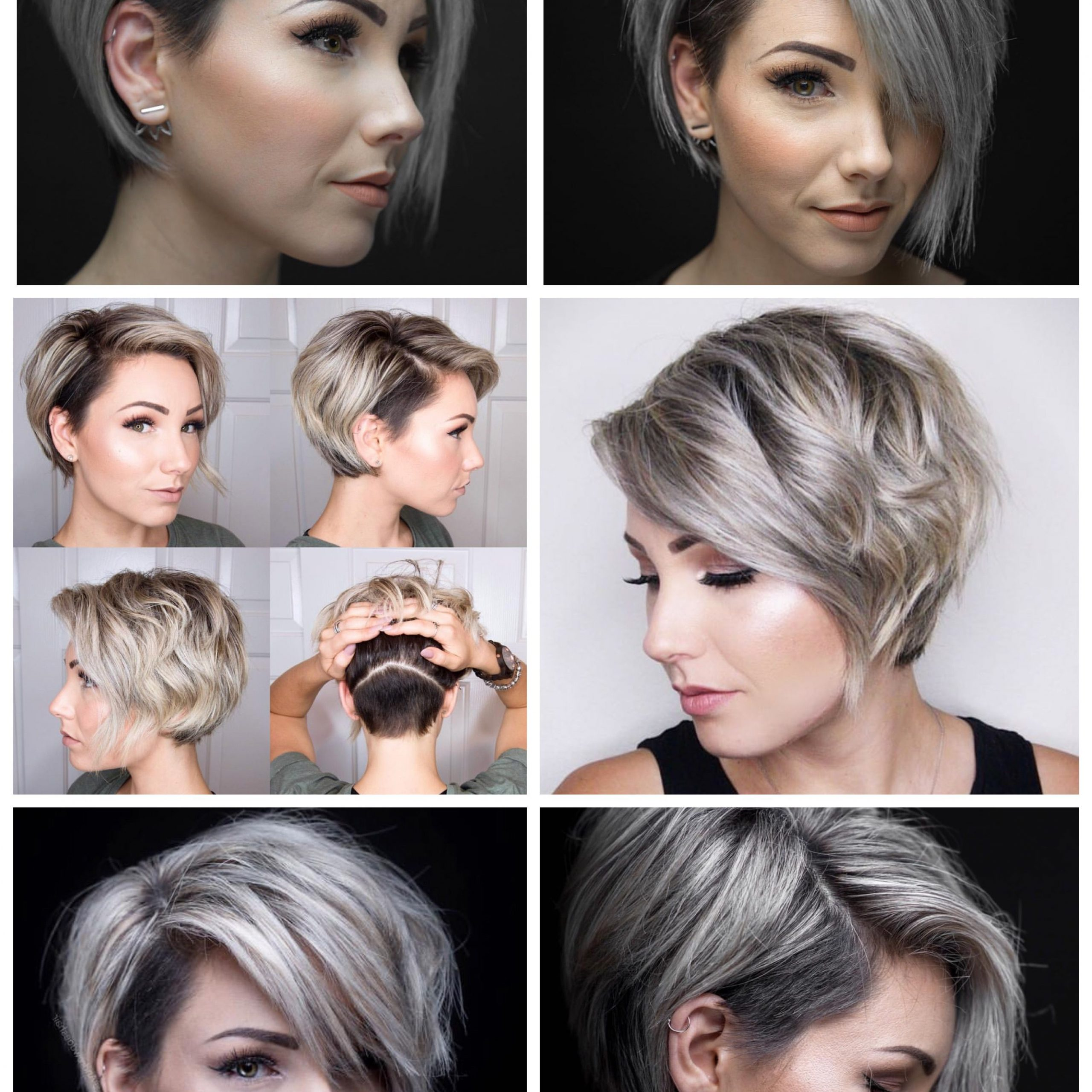 Fashionable Asymmetrical Feathered Bangs Hairstyles With Short Hair With Regard To Pin On Beauty (View 4 of 20)