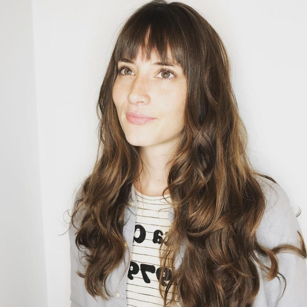 Favorite Asymmetrical Feathered Bangs Hairstyles With Short Hair Intended For 23 Chic Choppy Bangs For Women That Are Popular For (View 8 of 20)