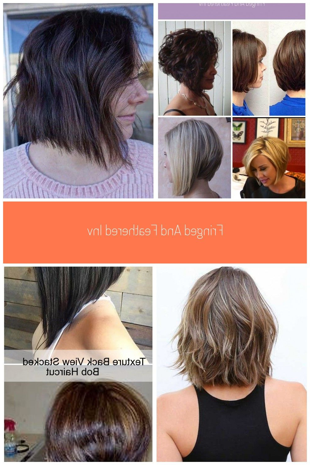 Featured Photo of Long Feathered Bangs Hairstyles With Inverted Bob