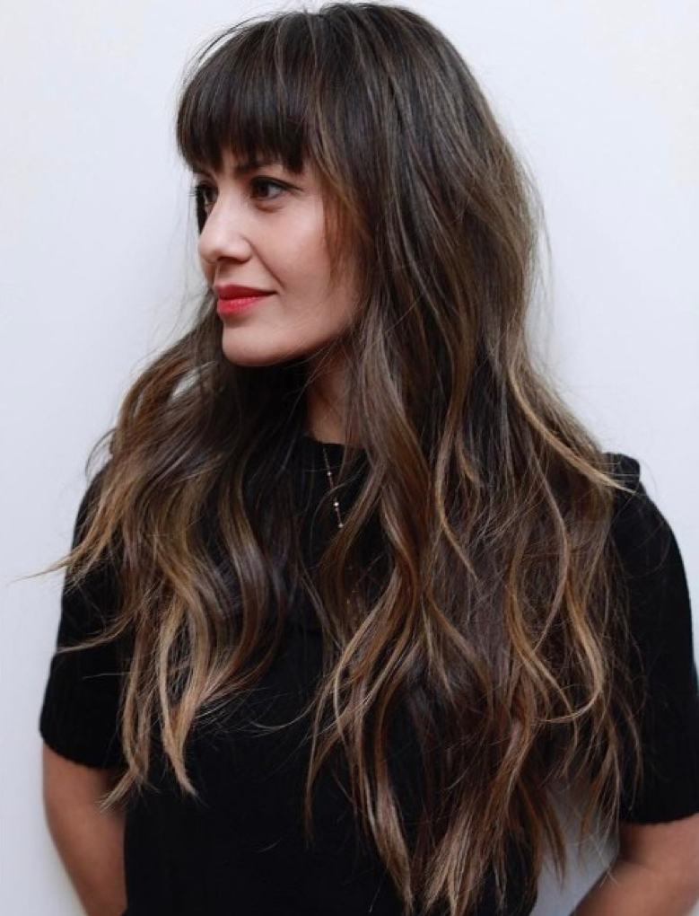 Long Hairstyles For Women In 2020 Within Current Dynamic Layered Feathered Bangs Hairstyles (View 14 of 20)