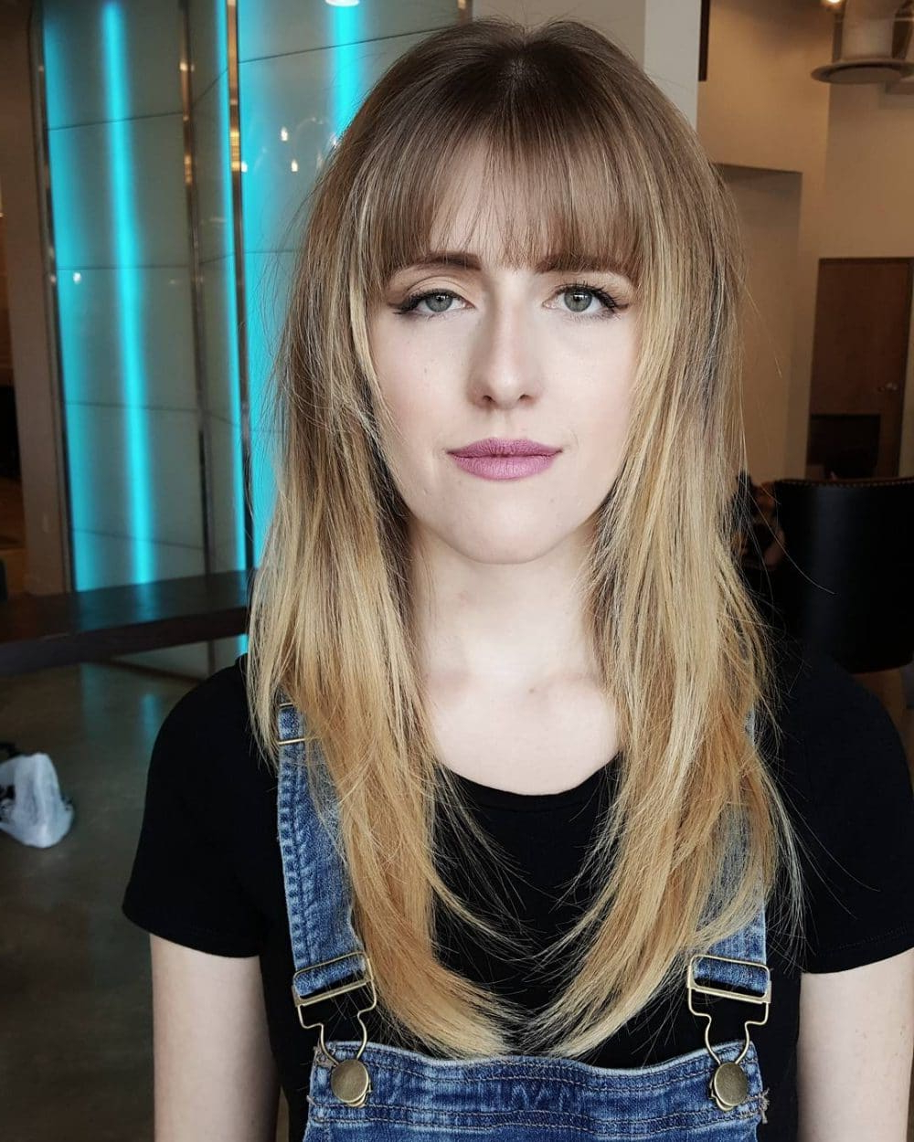 Most Recent Feathered Bangs Hairstyles With Bright Highlights Intended For Long Hair With Bangs: 37 Best Examples Of (View 17 of 20)