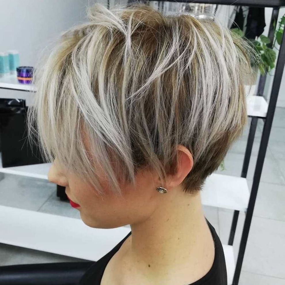 Most Recent Feathery Bangs Hairstyles With A Shaggy Pixie In Pin On Body Maintenance (View 2 of 20)