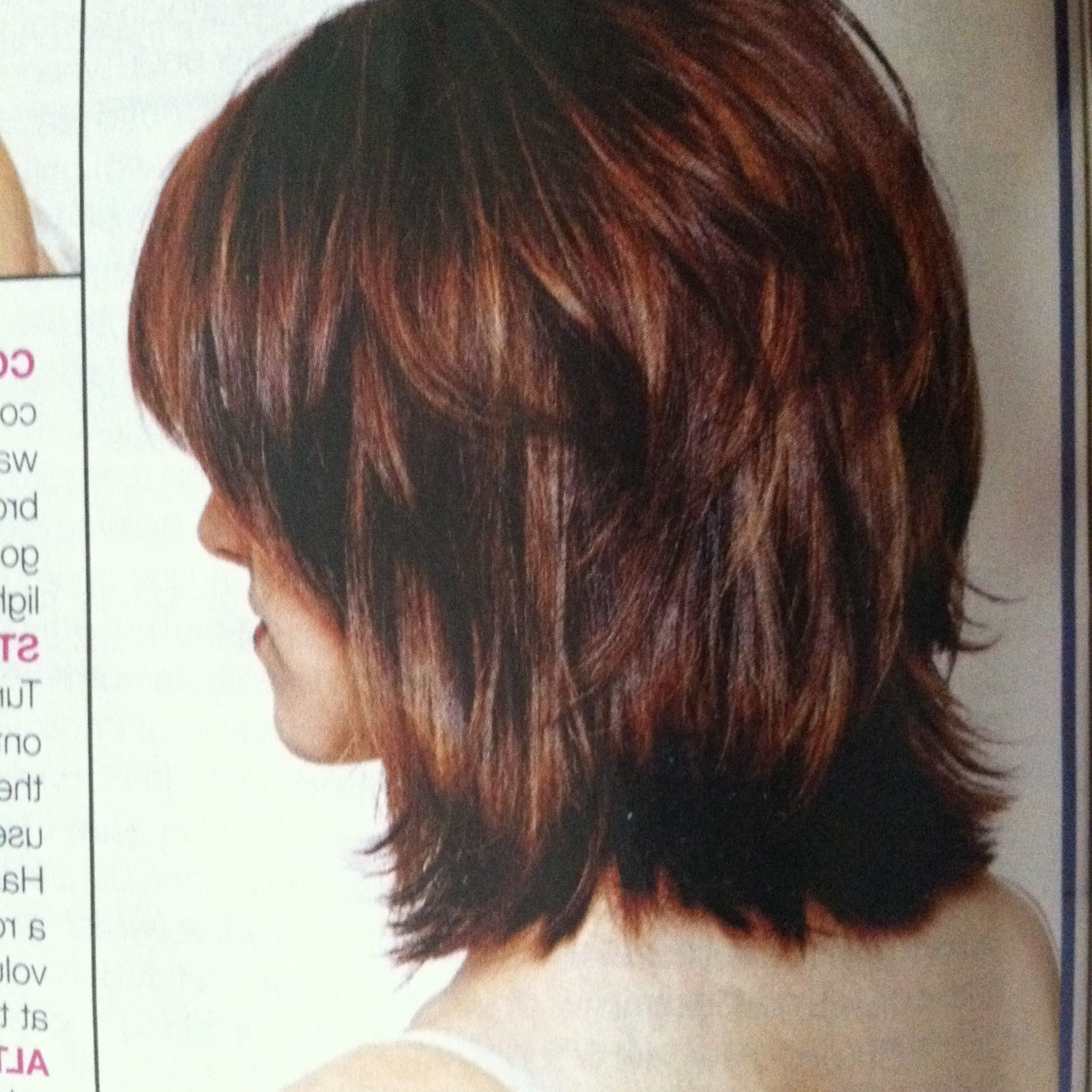 Pin On Girly Stuff Intended For Well Known Choppy Shag Hairstyles With Short Feathered Bangs (View 17 of 20)