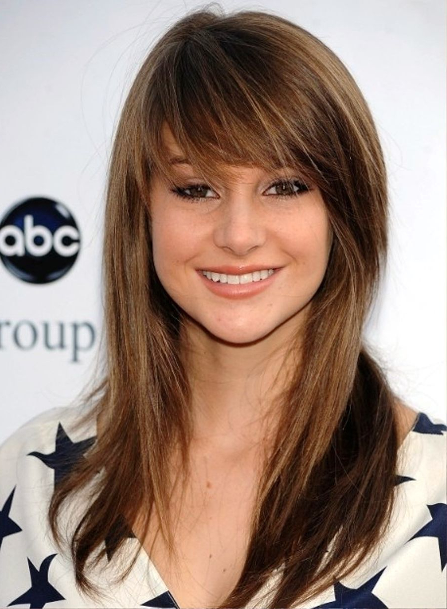 Pin On Hairdo For Preferred Side Swept Feathered Bangs Hairstyles (View 13 of 20)