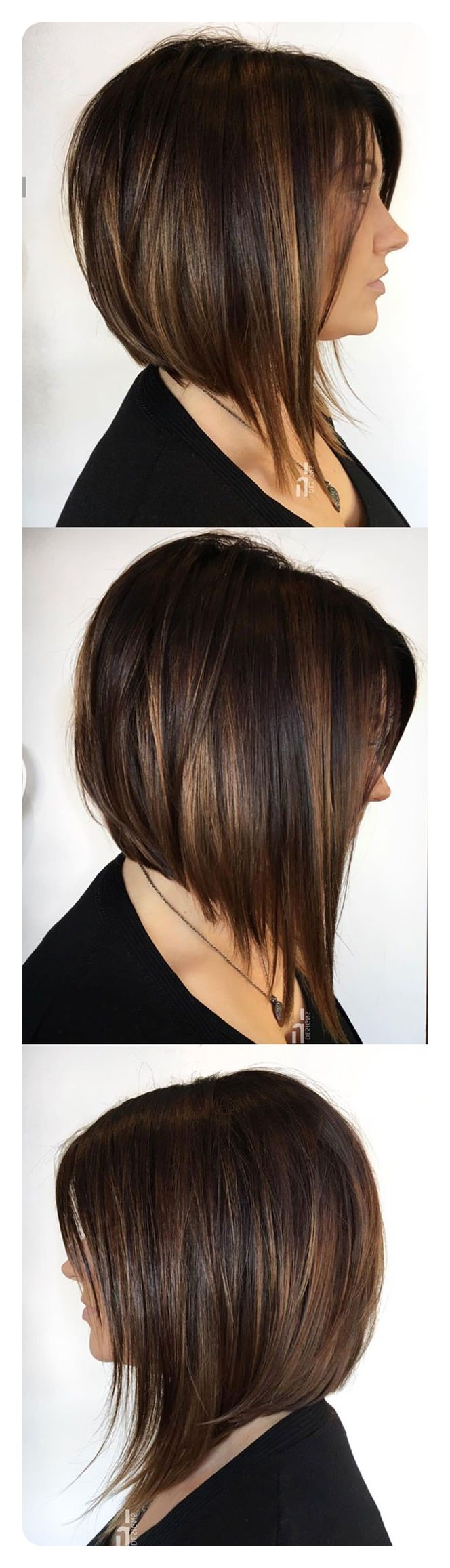 Recent Long Feathered Bangs Hairstyles With Inverted Bob Within 92 Layered Inverted Bob Hairstyles That You Should Try (View 7 of 20)