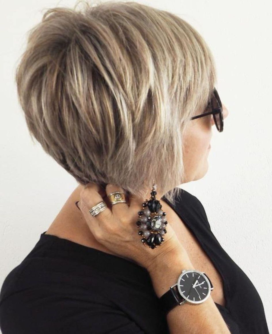 Widely Used Short Layered Bob Hairstyles With Feathered Bangs Pertaining To Feathered+pixie+bob+with+bangs (View 3 of 20)