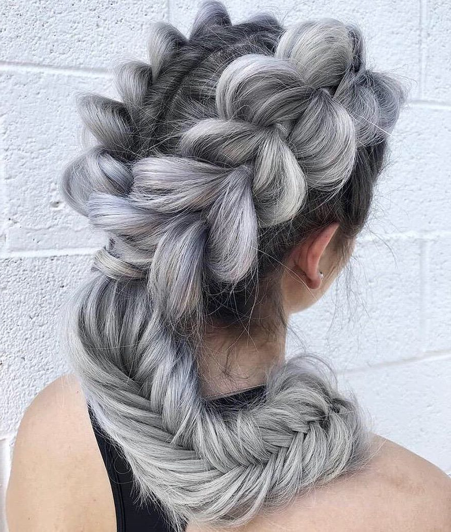 10 Amazing Braided Hairstyles For Long Hair – 2020 Women Inside Well Known Light Pink Semi Crown Braid Hairstyles (View 15 of 20)