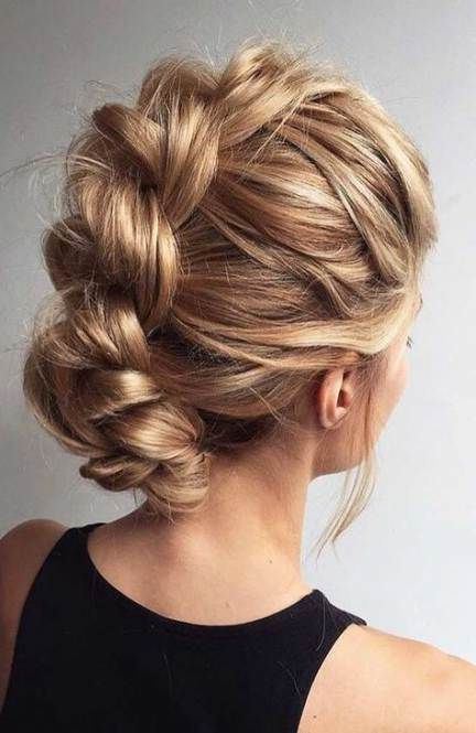 10 Beautiful Braided Updo Hairstyles For Women – Modern Throughout 2019 Intricate Braided Updo Hairstyles (View 17 of 20)