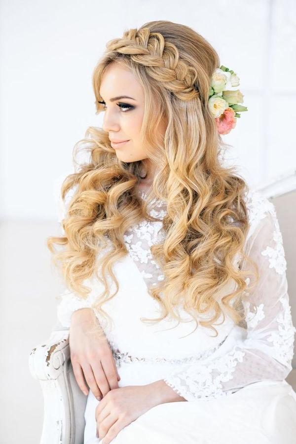 10 Irresistible Bridal Hairstyles For Long Locks – The Regarding 2020 Bridal Crown Braid Hairstyles (View 3 of 20)