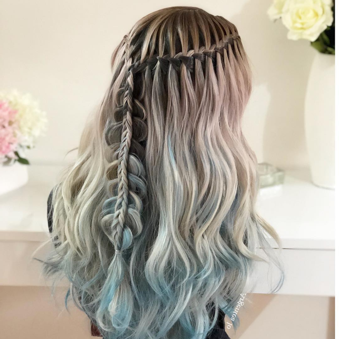 10 Messy Braided Long Hairstyle Ideas For Weddings With Newest Messy Twisted Braid Hairstyles (View 15 of 20)