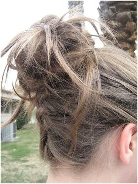 10 Trendy Messy Braid Bun Updos – Popular Haircuts Within Most Current Messy Twisted Braid Hairstyles (View 17 of 20)