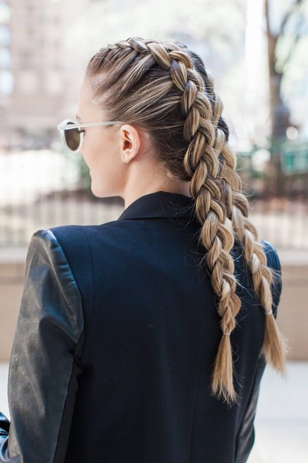 101 Stunning Dutch Braids Hairstyles You Need To Try For Best And Newest Loose Double Braids Hairstyles (View 3 of 20)