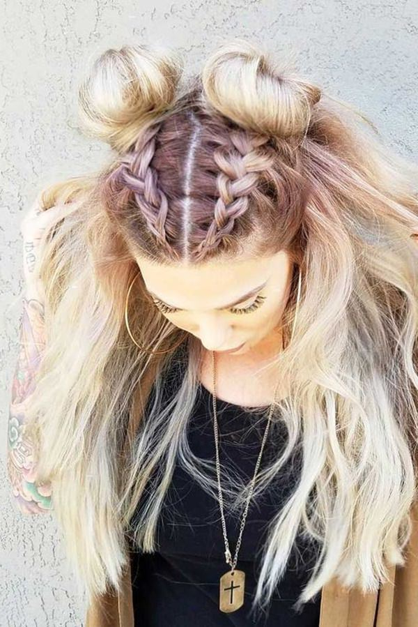 101 Stunning Dutch Braids Hairstyles You Need To Try Inside Well Liked Double Dutch Braids Hairstyles (View 10 of 20)