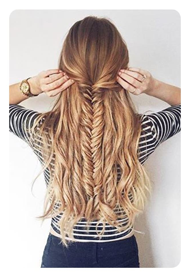 104 Fishtail Braids Hairstyles That Turn Heads With Regard To Most Recently Released Boho Fishtail Braid Hairstyles (View 7 of 20)