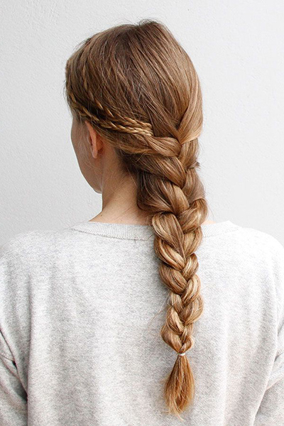 16 Glamorous French Braid Hairstyles For 2015 – Pretty Designs In Preferred Defined French Braid Hairstyles (View 10 of 20)