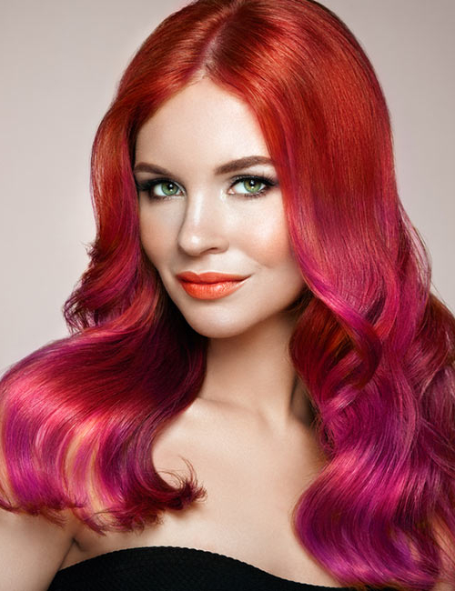 17 Fiery Red Hair Highlights Ideas For 2017 Red Highlights For Type 3c Hairstyles (View 14 of 20)