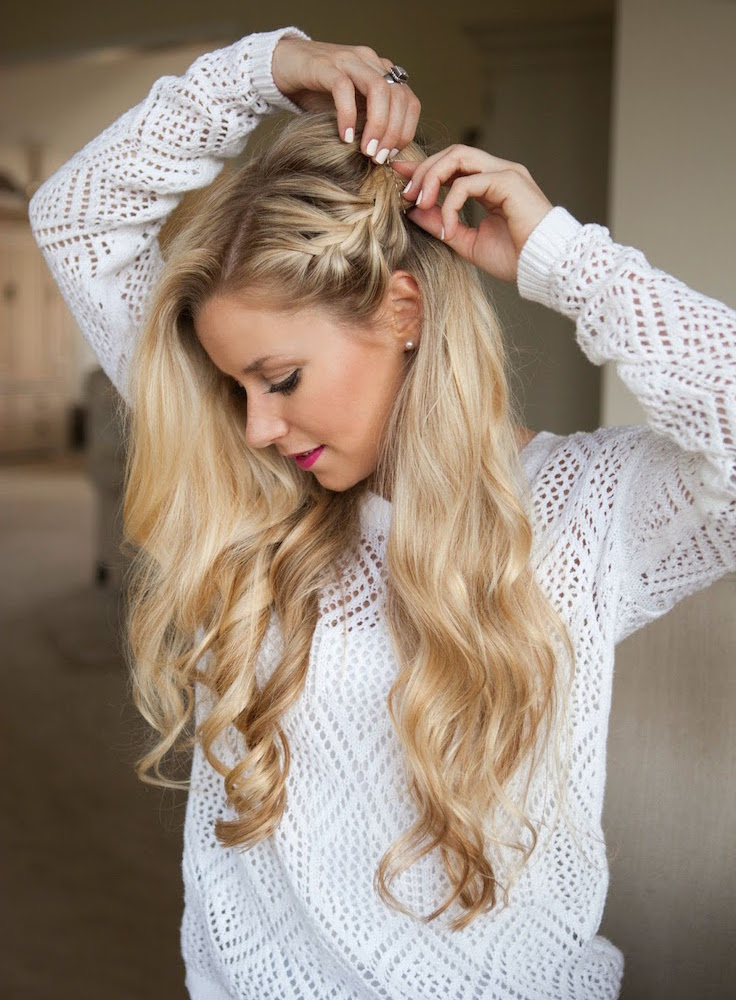 17 Gorgeous Party Perfect Braided Hairstyles Regarding Well Known Pancaked Side Braid Hairstyles (View 10 of 20)