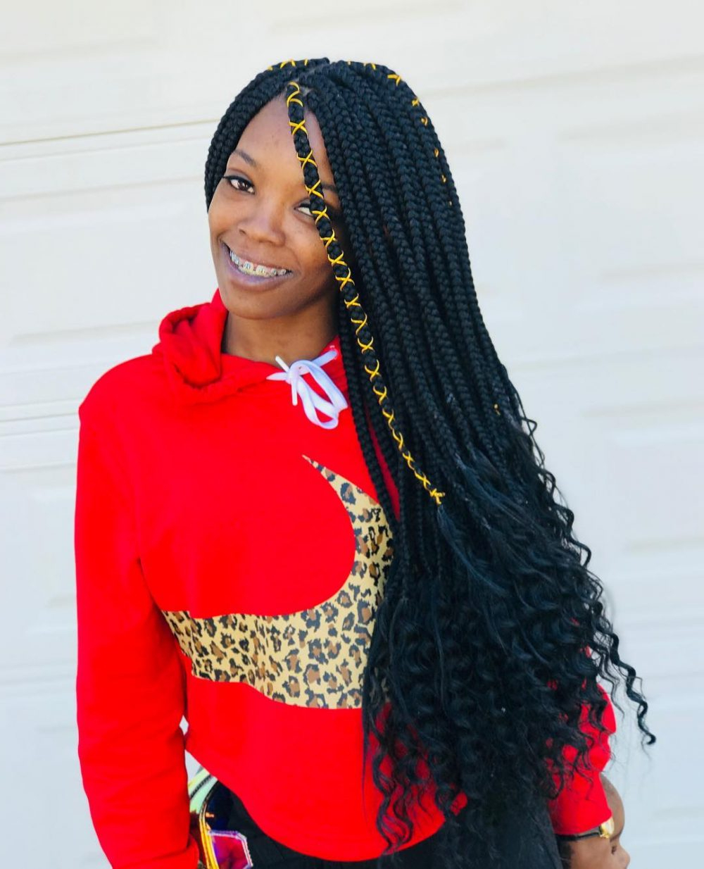 20 Hottest Crochet Hairstyles Of 2021 – Braids, Twists & Locs Regarding Most Current Loose Historical Braid Hairstyles (View 2 of 20)