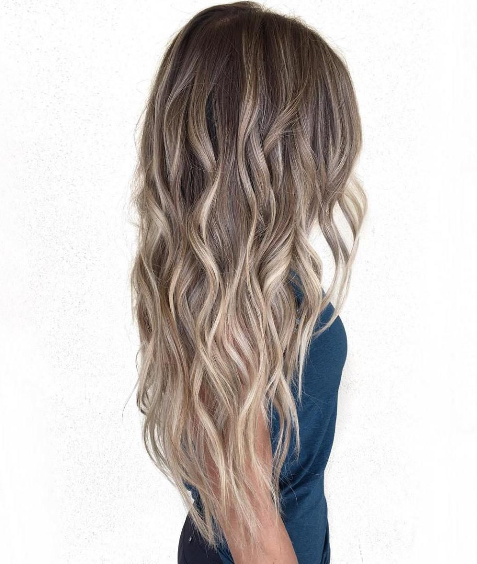 20 Long Hairstyles That Make You Want To Let Your Hair Pertaining To Famous Blonde Balayage On Long Voluminous Hairstyles (View 15 of 20)