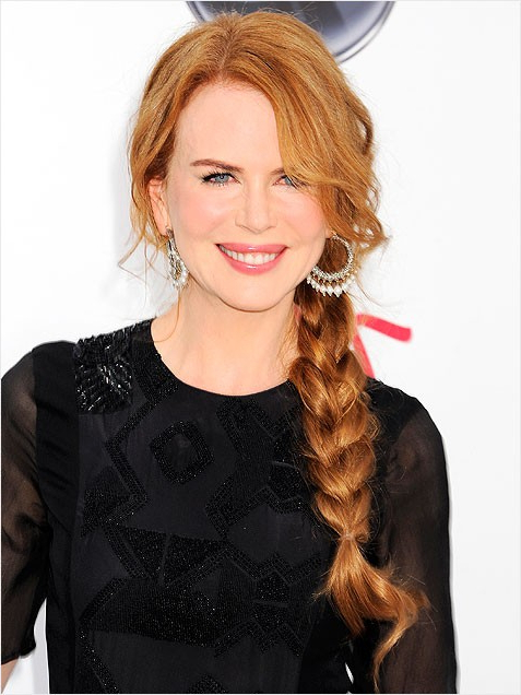 2011 Bridal Trend: Braided Hairstyles In Fashionable Loose Pancaked Side Braid Hairstyles (View 12 of 20)