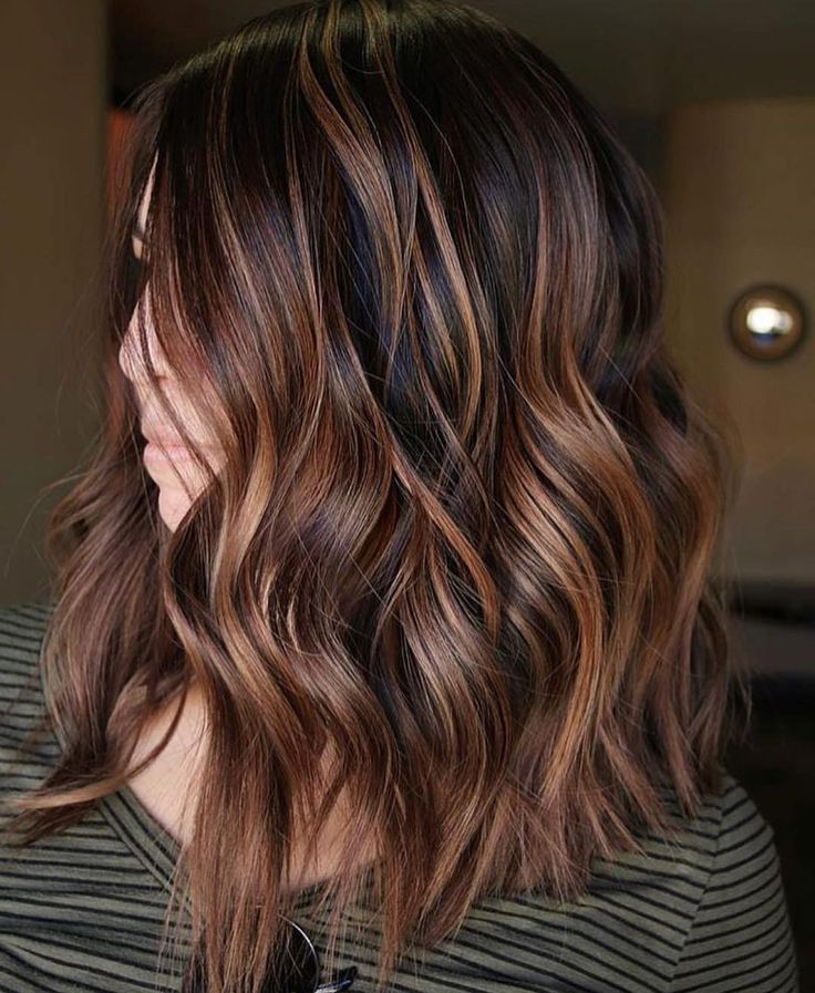 2017 Copper Curls Balayage Hairstyles With Regard To Best 25+ Copper Balayage Ideas On Pinterest (View 16 of 20)