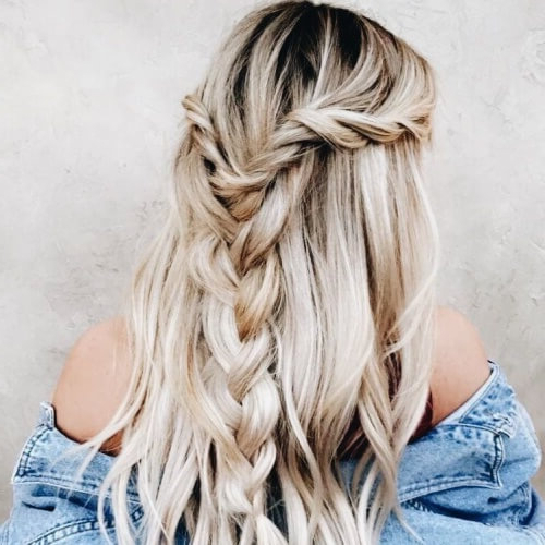 2019 Loose Highlighted Half Do Hairstyles Intended For 50 Half Up Half Down Hairstyles You'll Totally Love Hair (View 8 of 20)
