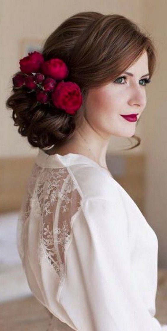 2020 Braided Beautiful Updo Hairstyles With 100 Most Pinned Beautiful Wedding Updos Like No Other (View 13 of 20)