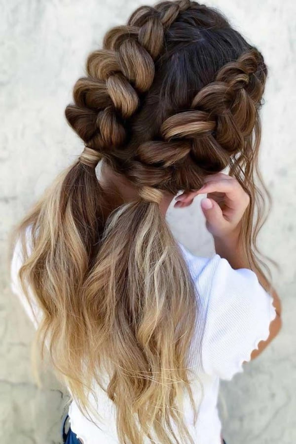 2020 Five Dutch Braid Ponytail Hairstyles For 74 Easy Braided Hairstyles For Long Hair To Try – Fashion (View 7 of 20)