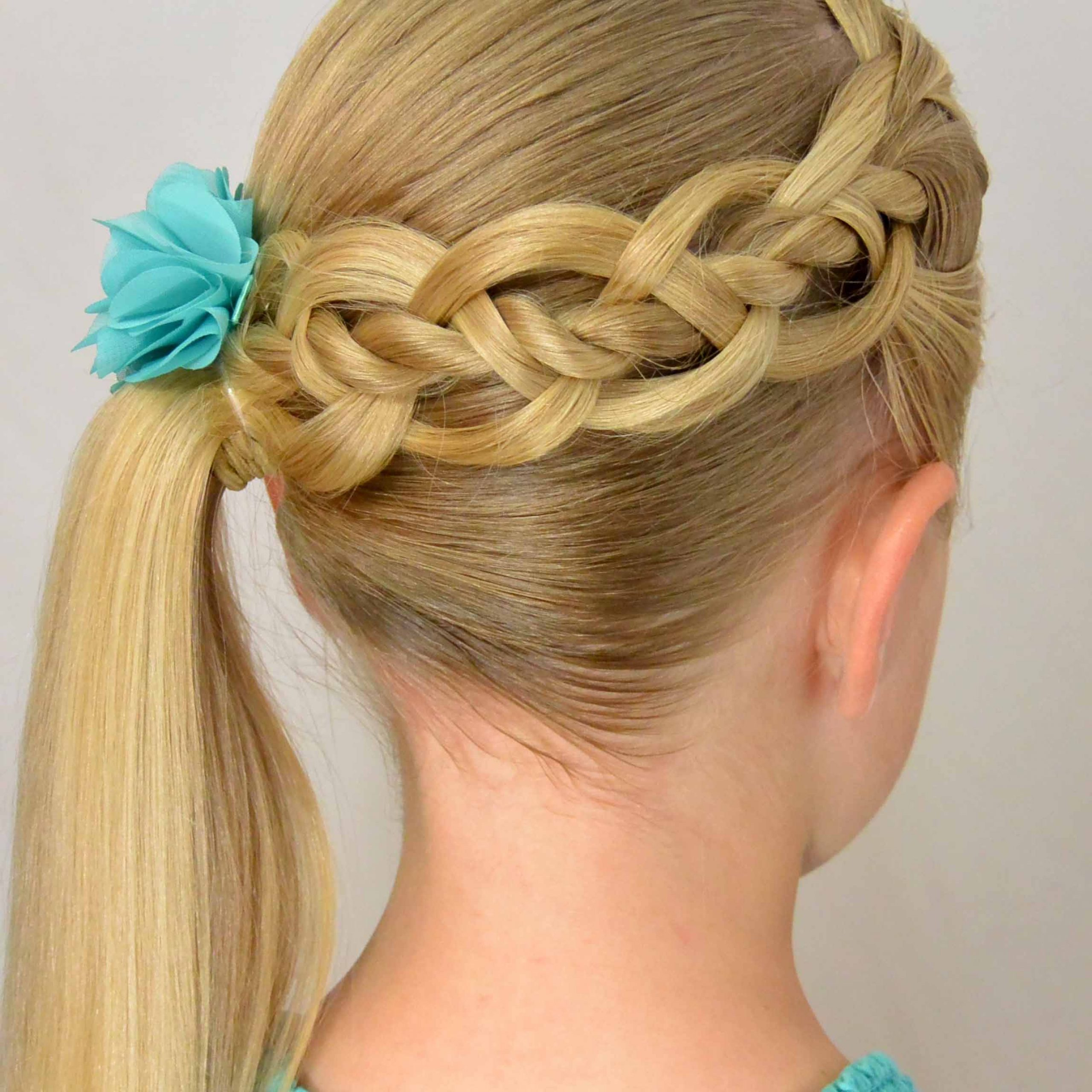 2020 Four Strand Braid Hairstyles Throughout 4 Strand Braid With A Twist – Babes In Hairland (View 8 of 20)