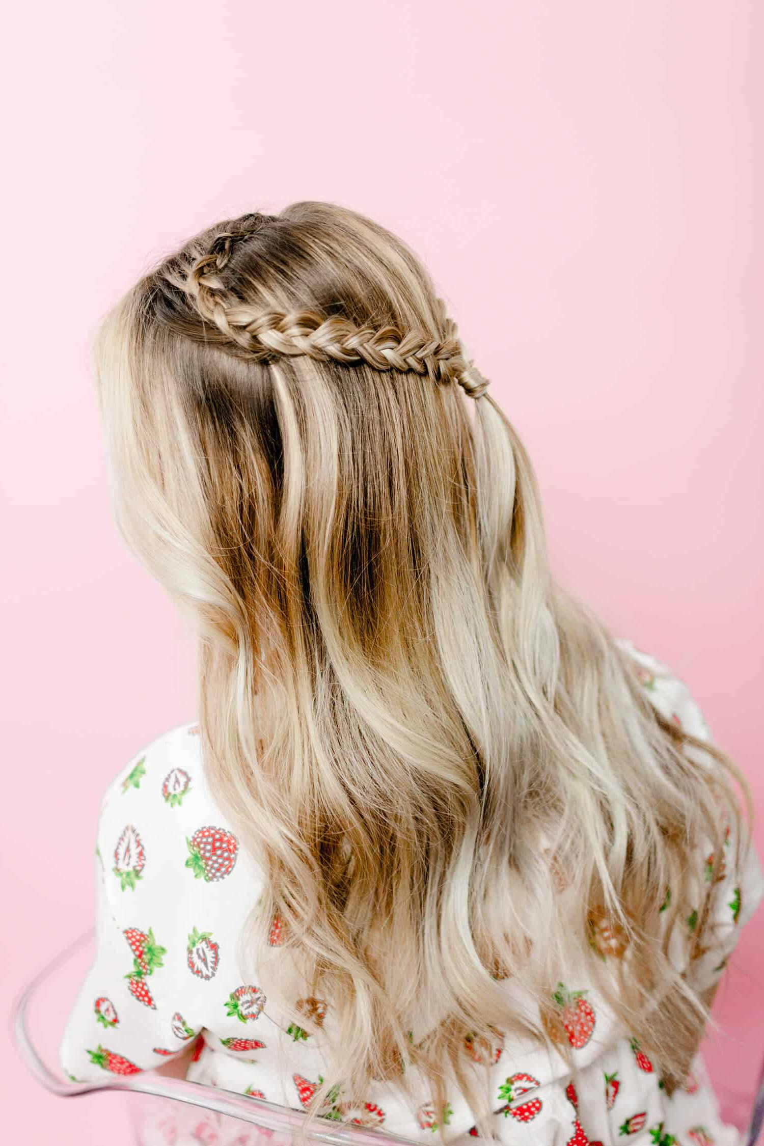 2020 Heart Braids Hairstyles For Easy Heart Shaped Braid – A Beautiful Mess (View 17 of 20)