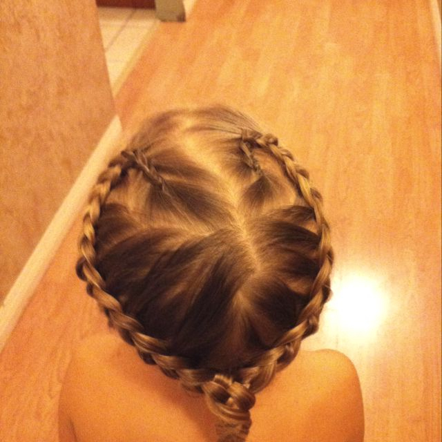 2020 Heart Braids Hairstyles For Heart Shaped Braid (View 13 of 20)
