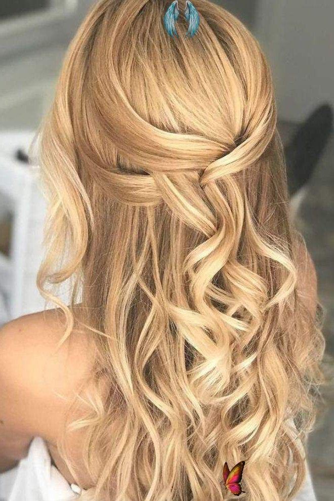 Featured Photo of Loose Highlighted Half Do Hairstyles