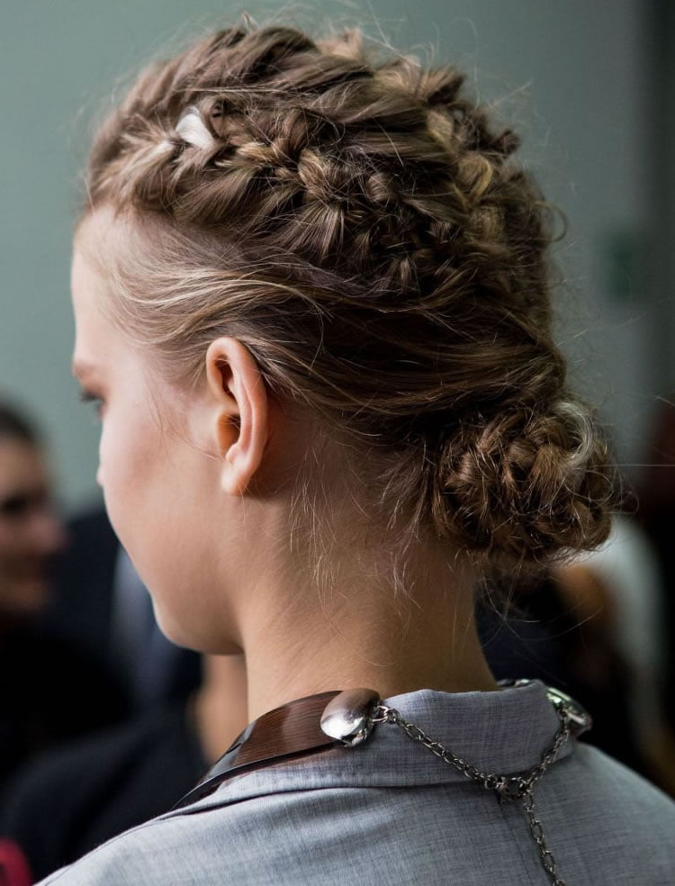 23 Stylish French Braid Hairstyles Photos And Video Regarding 2019 Defined French Braid Hairstyles (View 18 of 20)