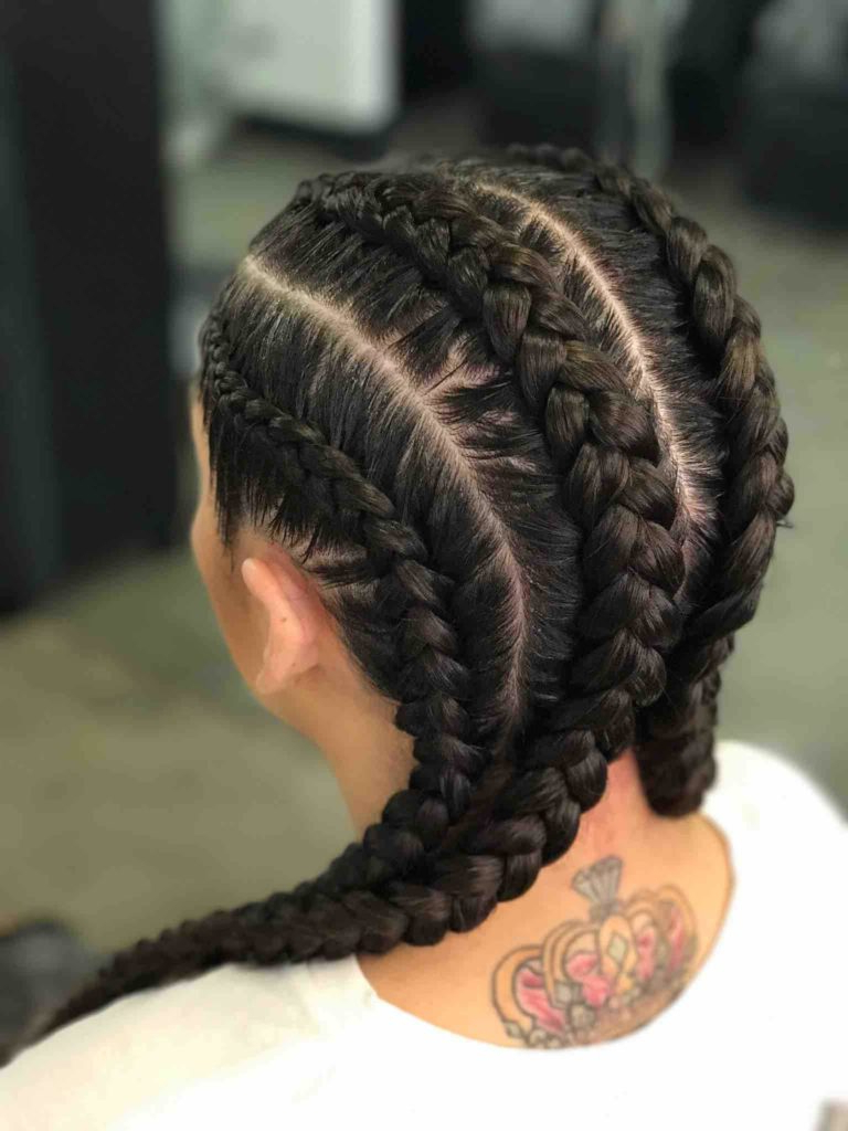 26 Most Beautiful French Braid Hairstyles Intended For Current Defined French Braid Hairstyles (View 6 of 20)