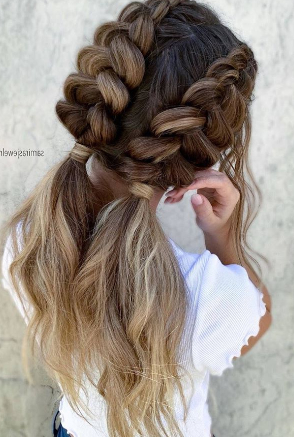 30 Beautiful Dutch Braided Hairstyle For This Summer Hair For Popular Dutch Heart Braid Hairstyles (View 7 of 20)