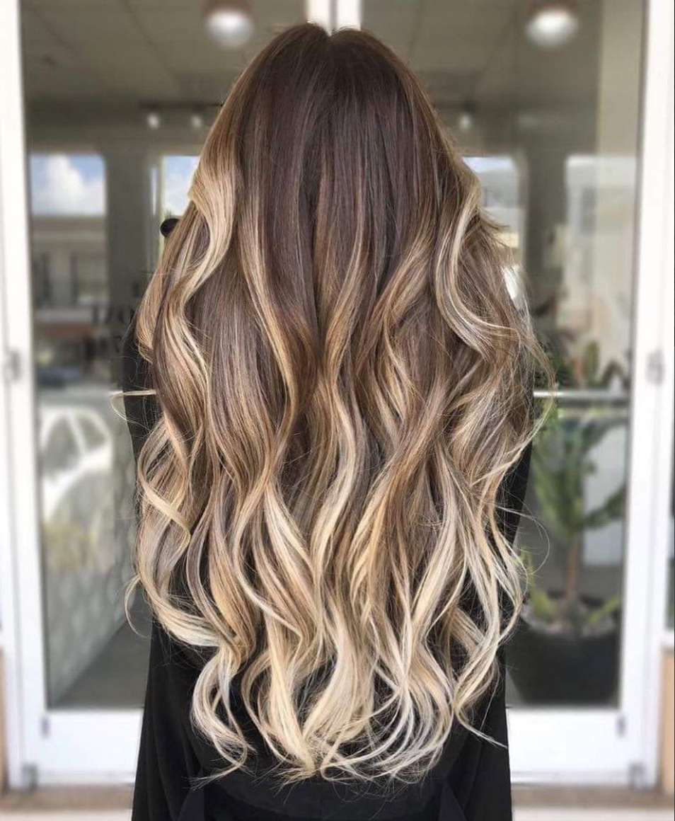 30 Blonde Hair Colors For Fall To Take Straight To Your With Trendy Blonde Balayage Ombre Hairstyles (View 2 of 20)