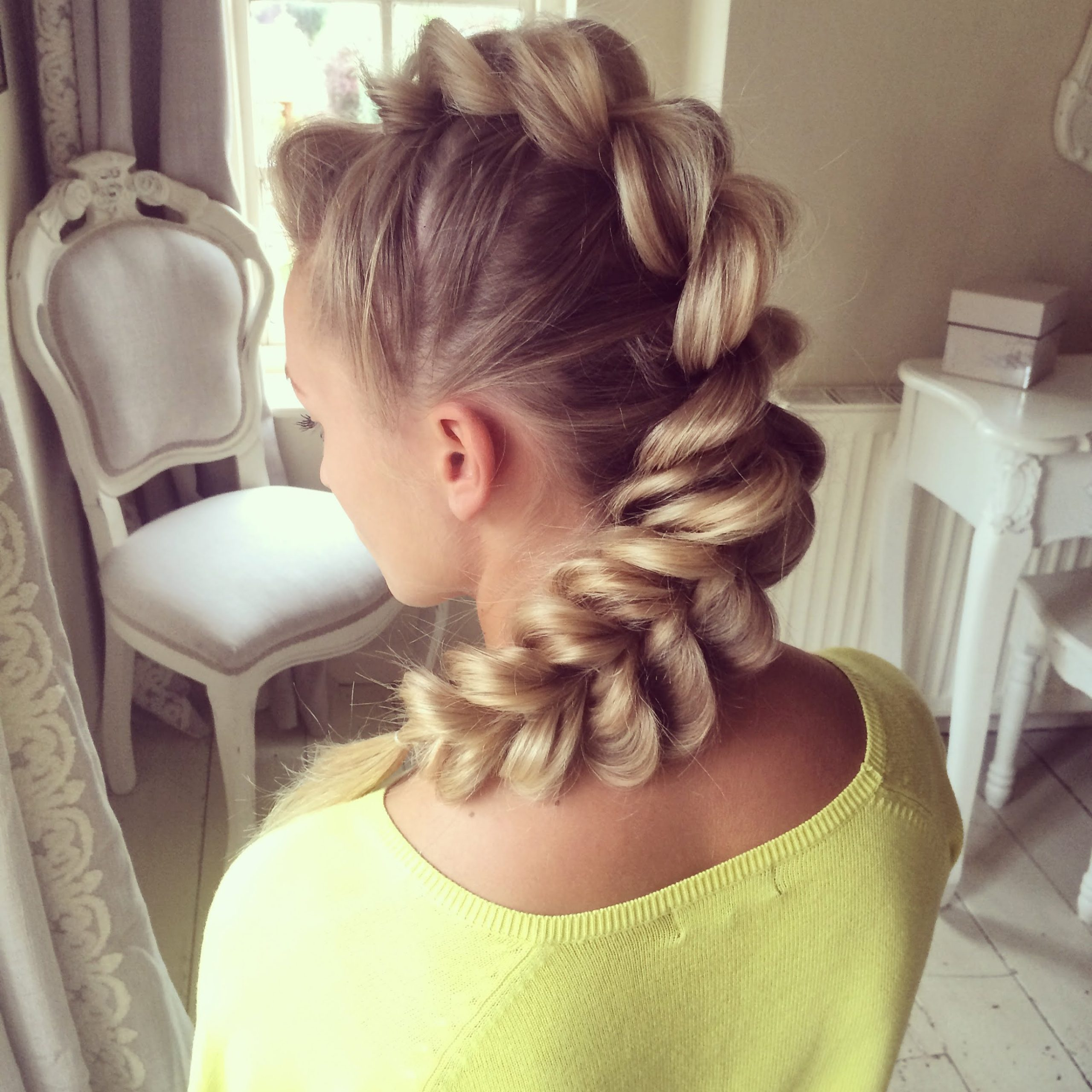 30 Braided Mohawk Styles That Turn Heads Intended For Well Known Mohawk French Braid Hairstyles (View 18 of 20)