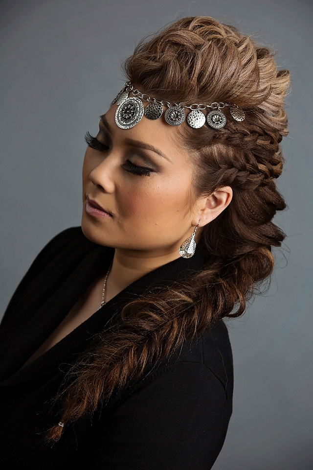 30 Braided Mohawk Styles That Turn Heads With Favorite Pouf Braided Mohawk Hairstyles (View 3 of 20)