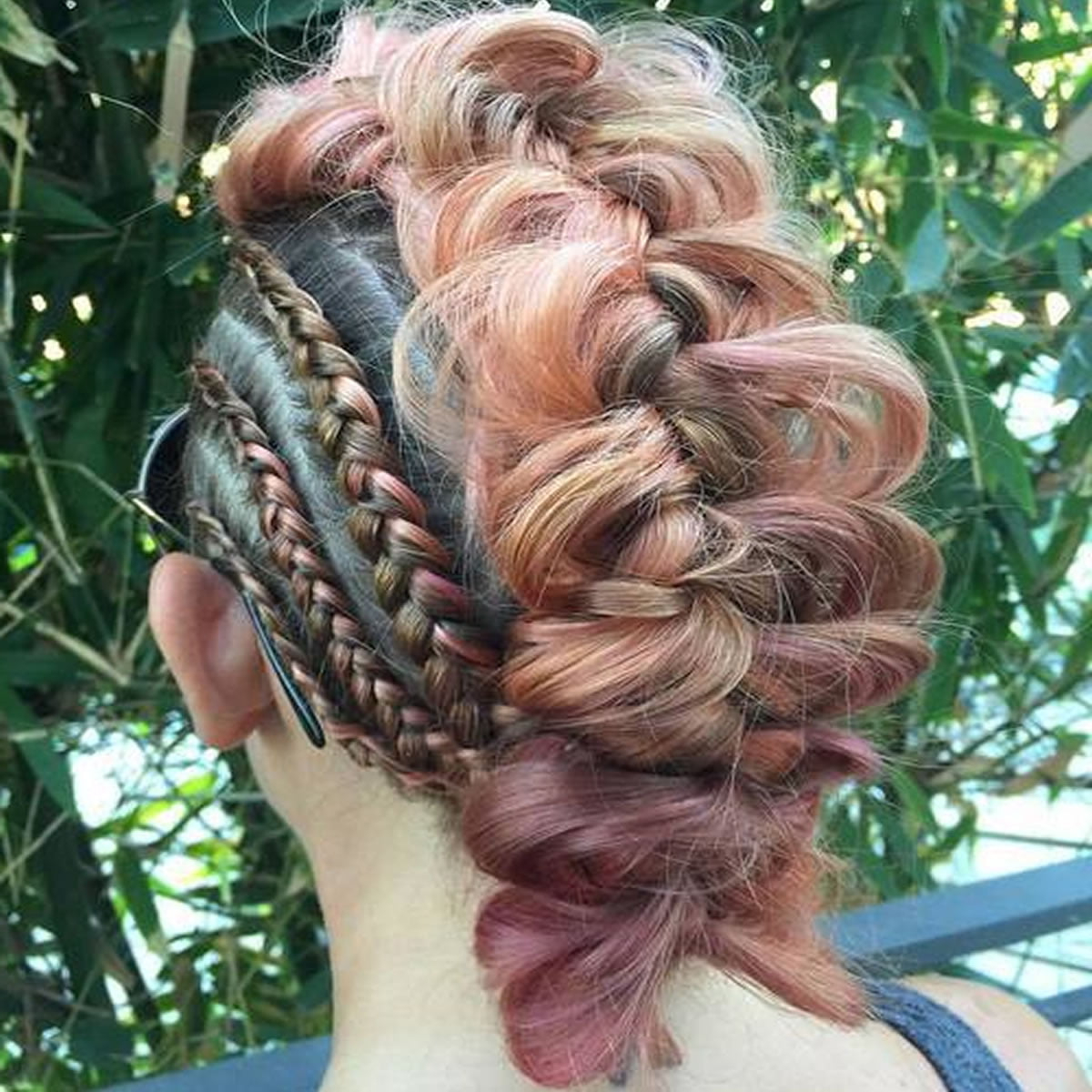 30 Glamorous Braided Mohawk Hairstyles For Girls And Women Throughout Best And Newest Pouf Braided Mohawk Hairstyles (View 14 of 20)
