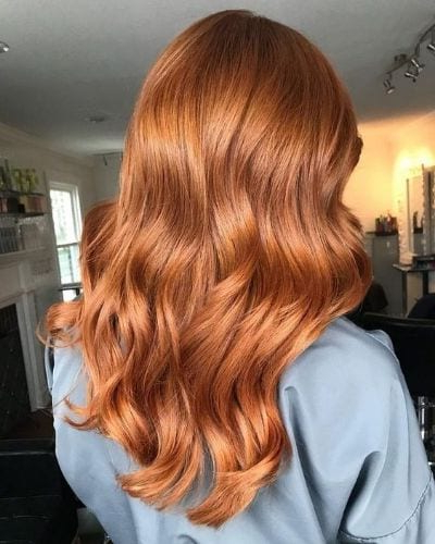 30 Strawberry Blonde Hair Ideas To Sweeten Up Your Look In Well Liked Long Dark Brown Curls Hairstyles With Strawberry Blonde Accents (View 2 of 20)