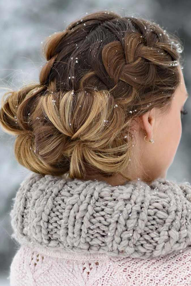 35 Easy Braided Hairstyles Glorious Long Hair Ideas – My Throughout 2020 Intricate Braided Updo Hairstyles (View 3 of 20)