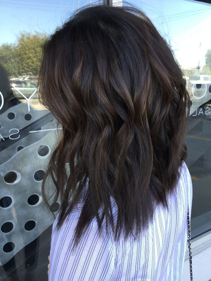 37 Sweet Caramel Balayage Hairstyles For 2019 – Eazy Glam Pertaining To Most Up To Date Deep Chocolate Curls Hairstyles With High Contrast Highlights (View 4 of 20)