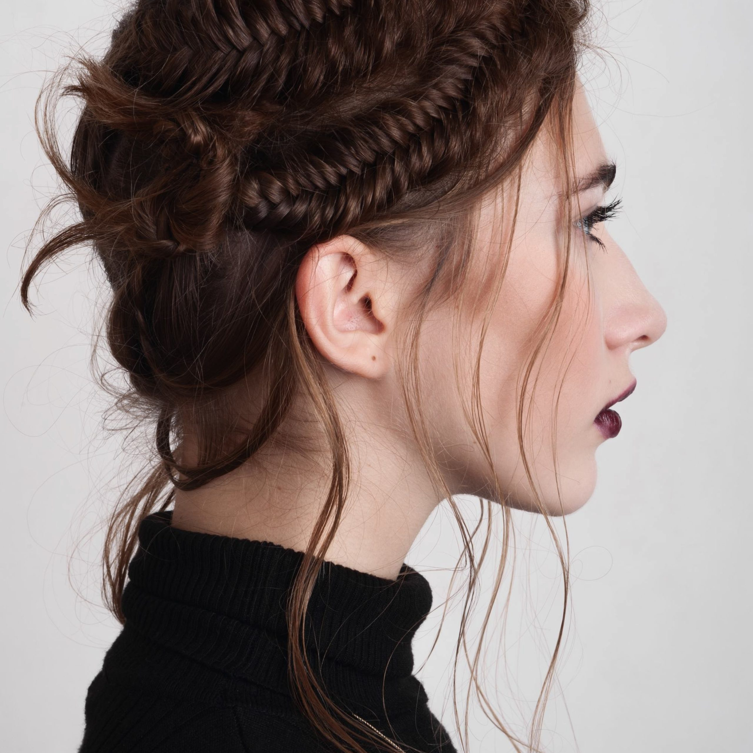 39 Beautiful Wedding Braids To Try This Season Intended For Favorite Double Braided Single Fishtail Braid Hairstyles (View 6 of 20)