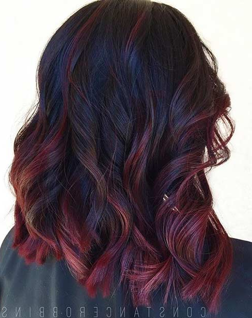 41 Amazing Dark Red Hair Color Ideas (View 12 of 20)