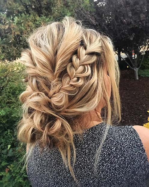 41 Beautiful Braided Updo Ideas For (View 15 of 20)