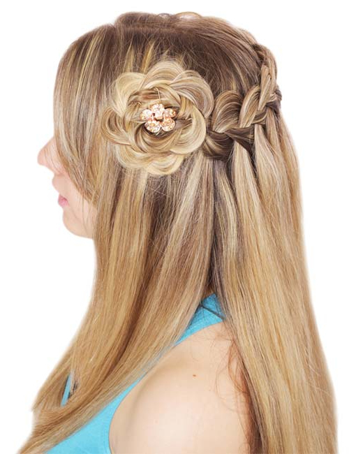 45 Stunningly Easy Braid Hairstyles In Newest Braided Crown Rose Hairstyles (View 8 of 20)