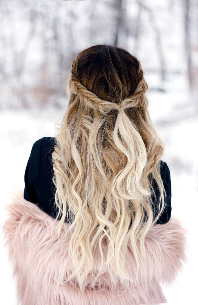 47 Bombshell Blonde Balayage Hairstyles That Are Cute And Pertaining To Favorite Blonde Balayage Ombre Hairstyles (View 16 of 20)