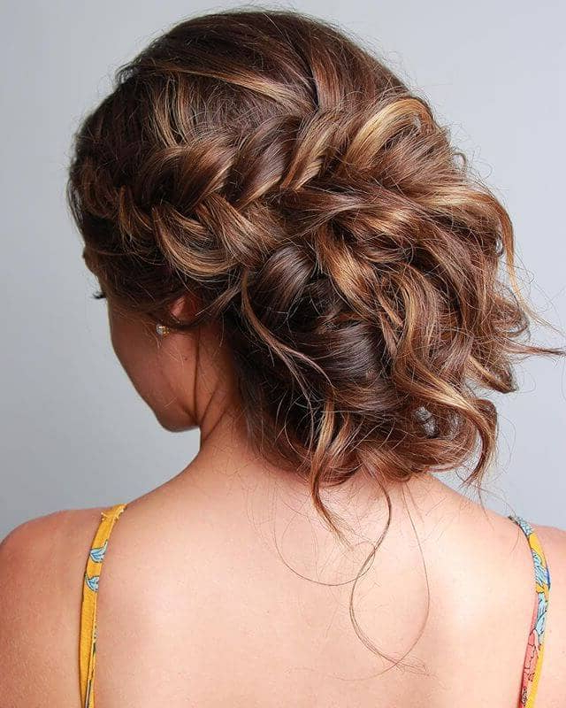 50 Best And Flattering Brown Hair With Blonde Highlights Intended For Most Recently Released Deep Chocolate Curls Hairstyles With High Contrast Highlights (View 12 of 20)